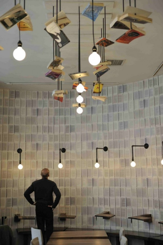 cafe lighting ideas mcnally jackson cafe by front studio architects cafe lighting design