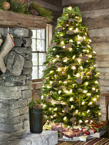 33 cute log cabin christmas decorations - Cabin Christmas Decor
