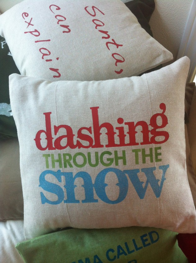 A Collection of Beautiful Handmade Christmas Pillows