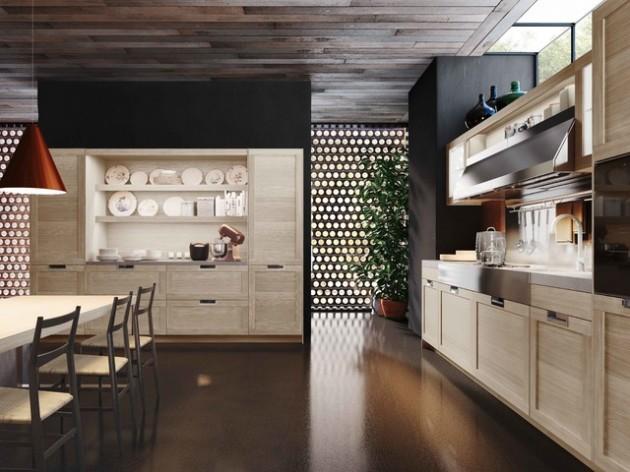 27 Classy Contemporary Italian Kitchen Design Ideas