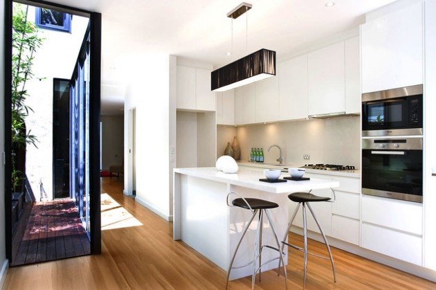 33 Super Smart Solutions for Small Contemporary Kitchens
