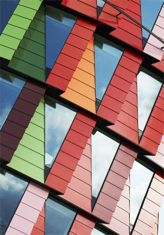 22 Modern and Colorful Facades