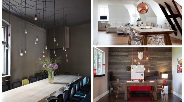 20 Cool Dining Table Lightning Ideas