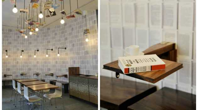 McNally Jackson Cafe by Front Studio Architects