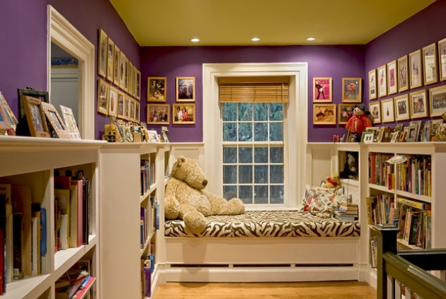 28 Cozy And Attractive Reading Nook Design Ideas Part 39