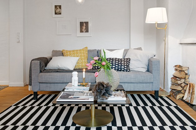 Charming Scandinavian Attic Apartment in Gothenburg