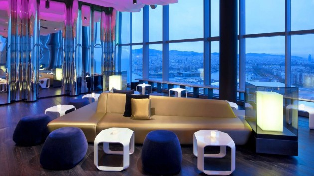 W Barcelona Hotel Extravagant Architecture and Astonishing Interior Design
