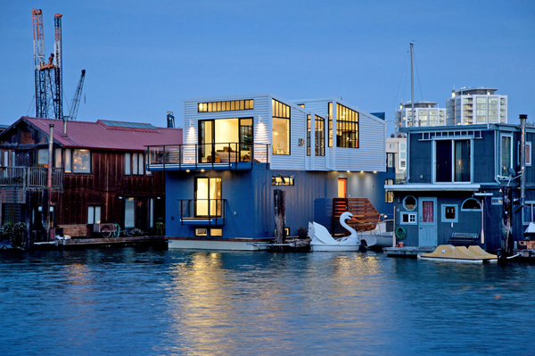 Amazing Contemporary Floating House in San Francisco ...