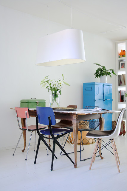 21 Lovely Dining Room Ideas in Eclectic Style