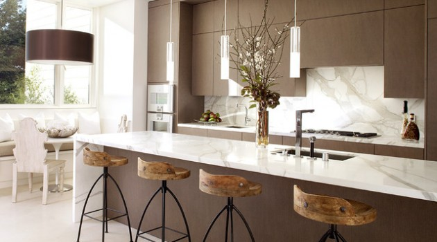 24 Gorgeous Bar Stool Designs For More Attractive Kitchen