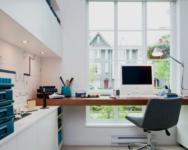 22 Modern Design Ideas for More Productive Home Office