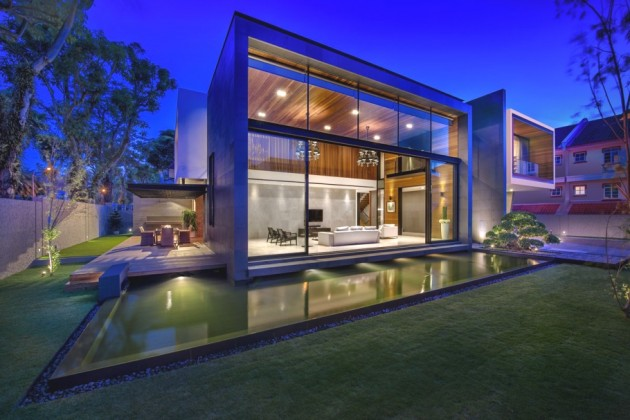 Modern Minimalist Luxury Home Singapore