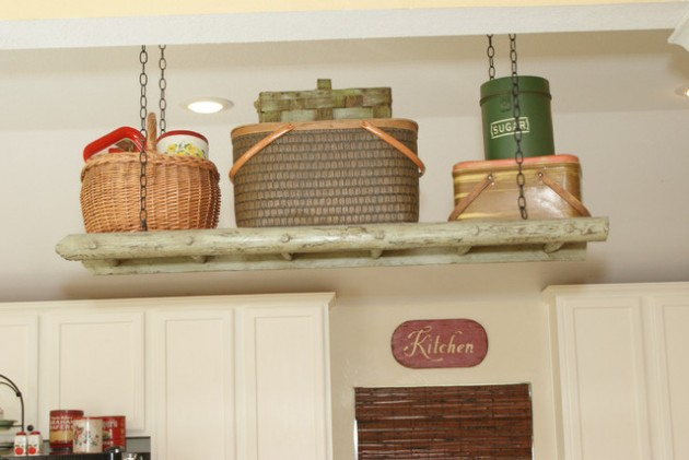 Top 45 Inspirational Ideas How To Repurpose Ladders for Vintage Look of Your Home