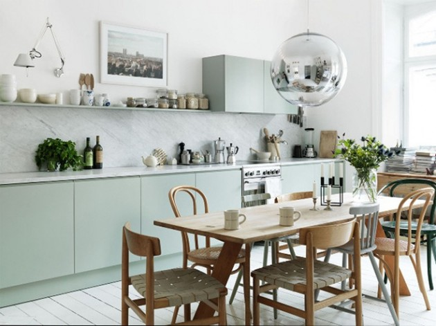 Scandanavian Kitchen inspiring white scandinavian kitchen designs