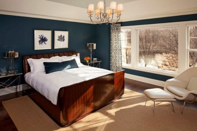 20 marvelous navy blue bedroom ideas Bedroom colors and ideas
