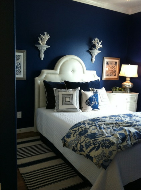 blue walls bedroom ideas