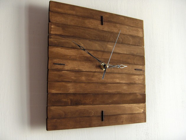 20 Stunning & Unique Handmade Wall Clocks (1)
