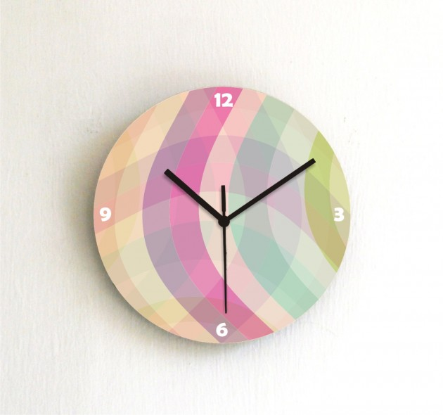 20 Stunning & Unique Handmade Wall Clocks (2)