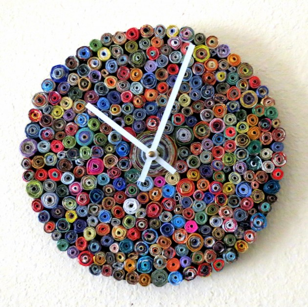 20 Stunning & Unique Handmade Wall Clocks (9)