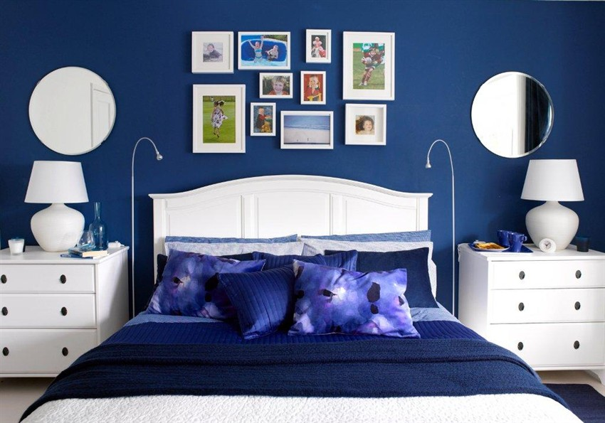 . 20 Marvelous Navy Blue Bedroom Ideas