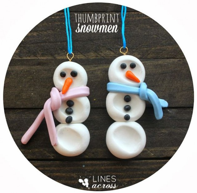 30 Creative and Fun DIY Snowman Decorations