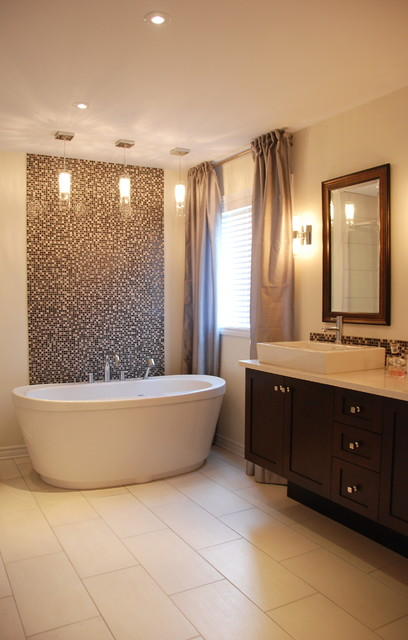 25 charming glass mosaic tiles design ideas for adorable Bathroom tile ideas mosaic