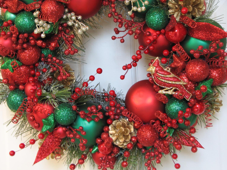 24 Whimsical Handmade Christmas Wreath Ideas 14