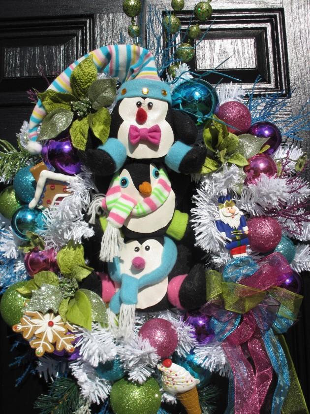 24 Whimsical Handmade Christmas Wreath Ideas