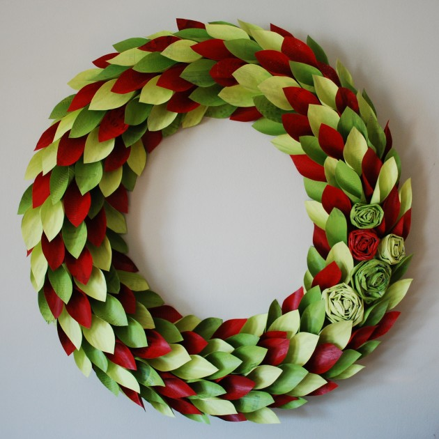 Whimsical Handmade Christmas Wreath Ideas