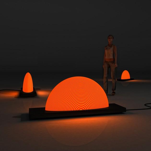 Sunrise Lamp by Natalia Rumyantseva