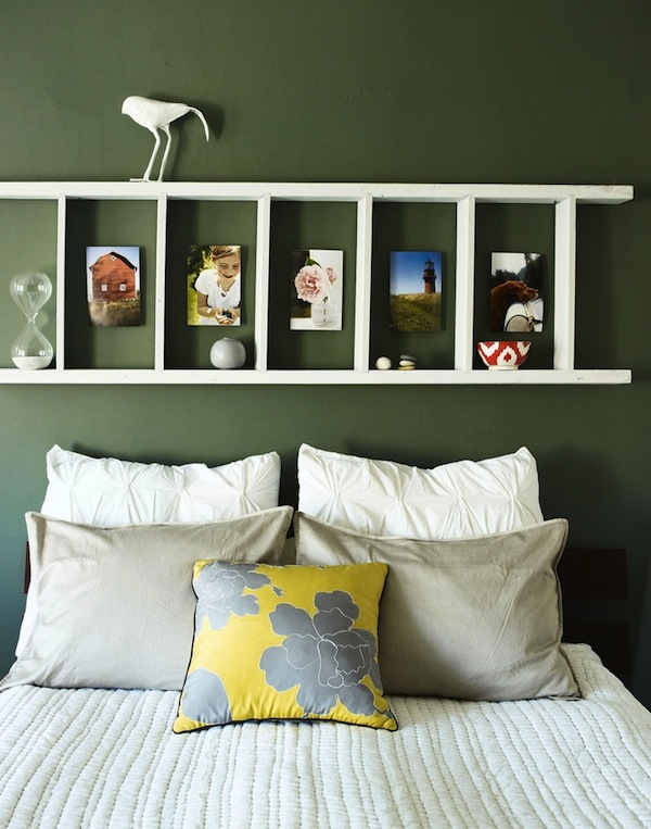 Top 45 Inspirational Ideas How To Repurpose Ladders For Vintage