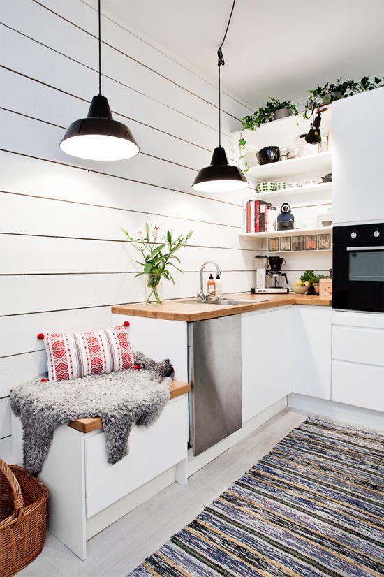 30 inspiring white scandinavian kitchen designs - Scandinavian Kitchen Design