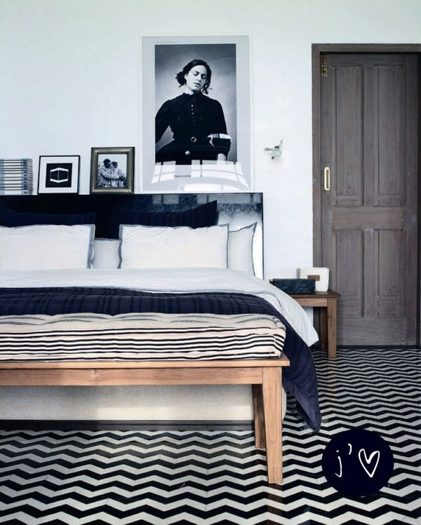 25 Cool Chevron Interior Design Ideas