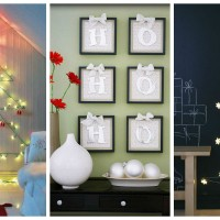 30 Amazing DIY Christmas Wall Art Ideas