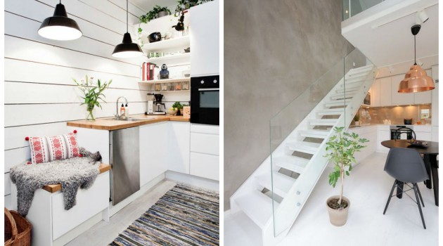 30 Inspiring White Scandinavian Kitchen Designs