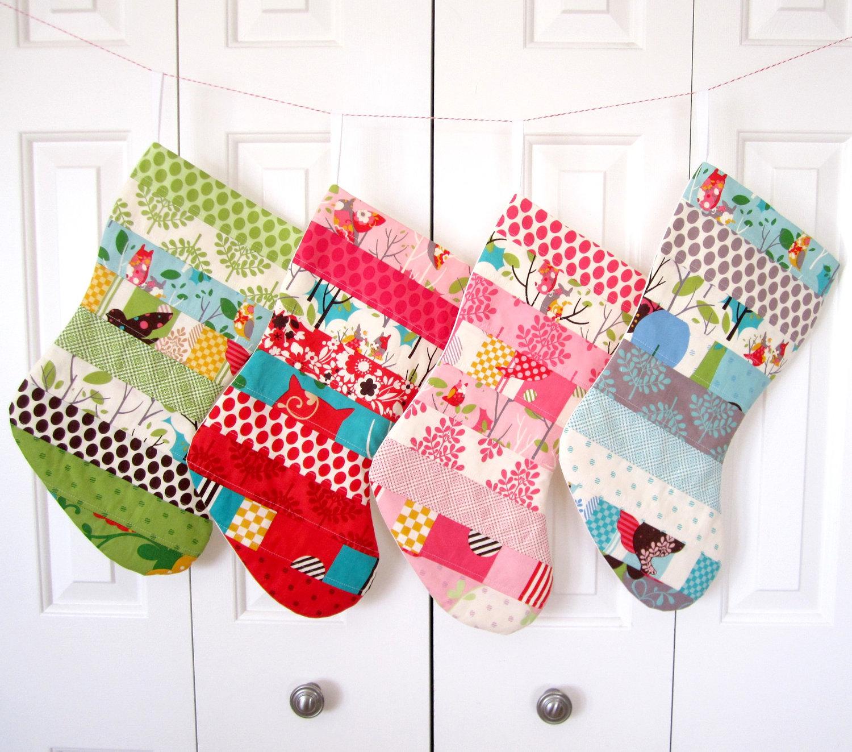 use christmas stockings as christmas decorations 15 designs 10