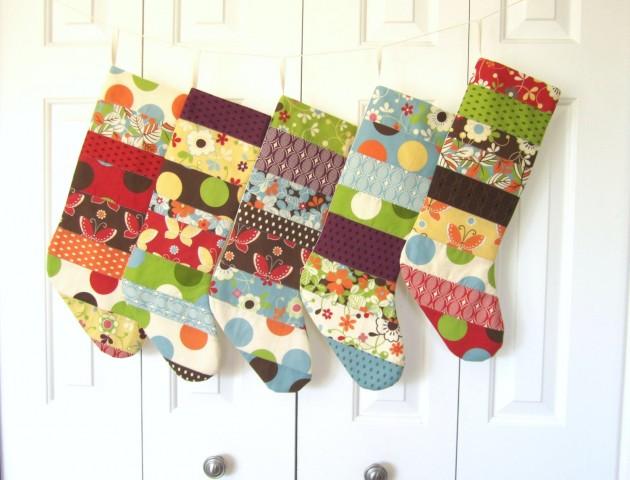 Christmas Stockings as Christmas Decorations - 15 Designs