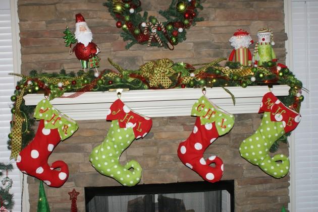 Christmas Stockings as Christmas Decorations 15 Designs
