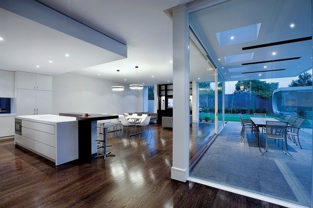 Hawthorn Residence in Hawthorn, Australia designed by Canny