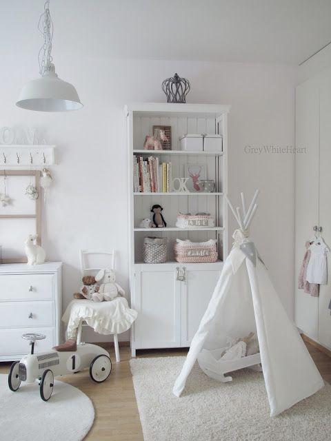 25 Amazing White Kid S Room