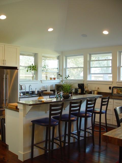 30 Elegant Contemporary Breakfast Bar Design Ideas on Modern:0Bjn4Cem9Be= Kitchen Counter  id=21927