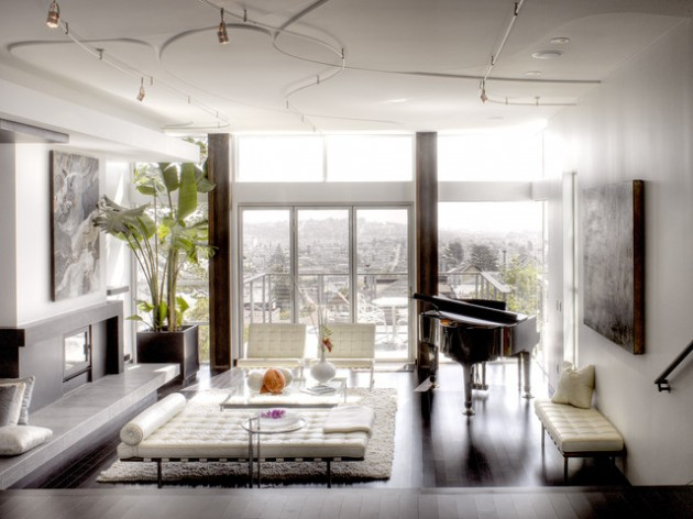 19 Creative Ways How To Decorate Living Room With Piano Part 26