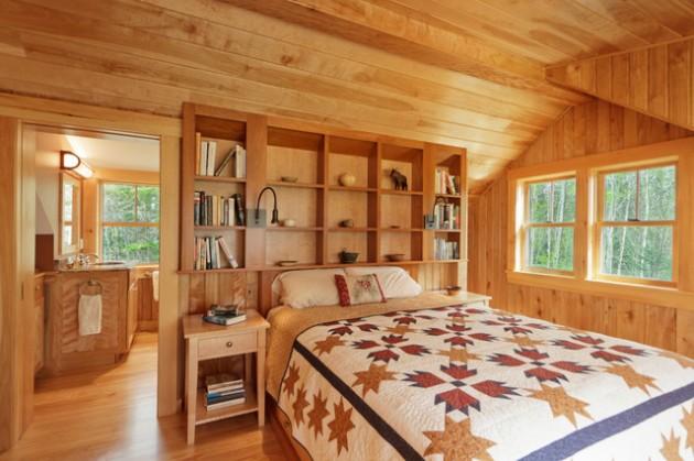 Interior Wood Walls Cabin
