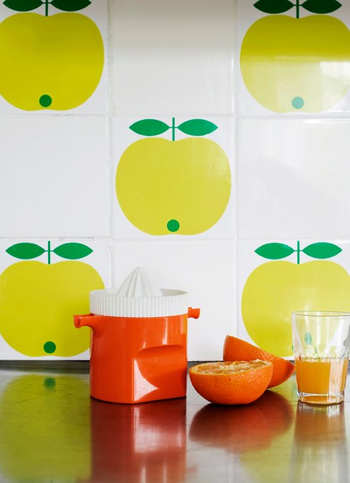 25 Amazing Retro Kitchen Tiles Designs