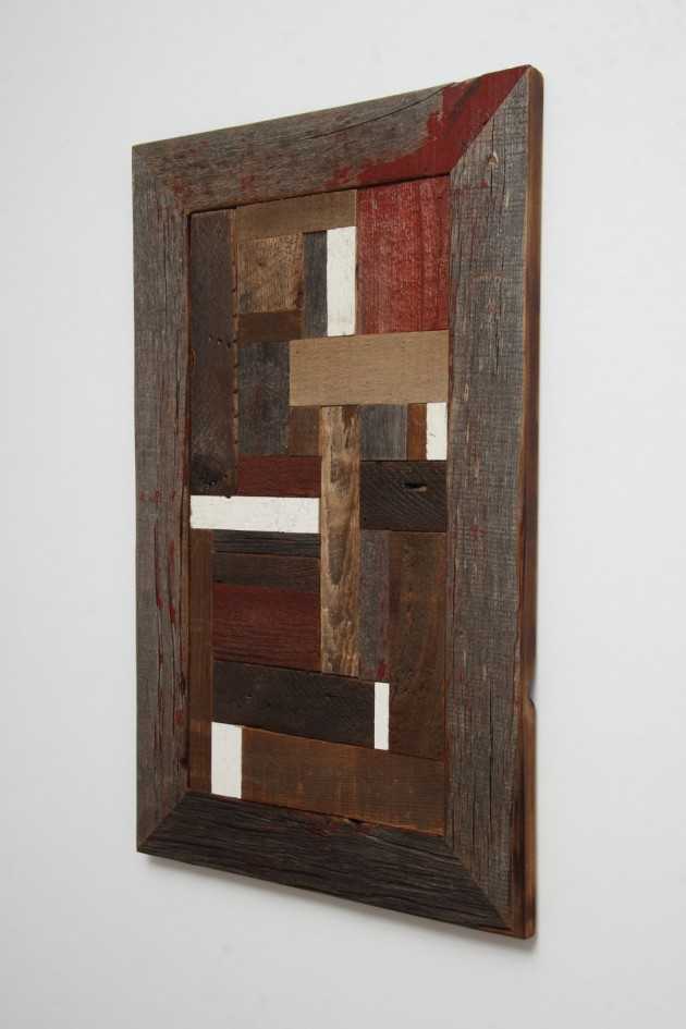 16 Magnificent Examples of Reclaimed Wood Wall Art (11)