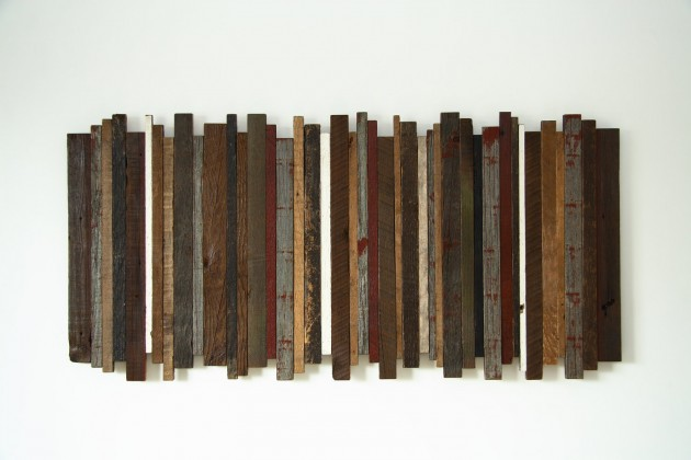 16 Magnificent Examples of Reclaimed Wood Wall Art (14)