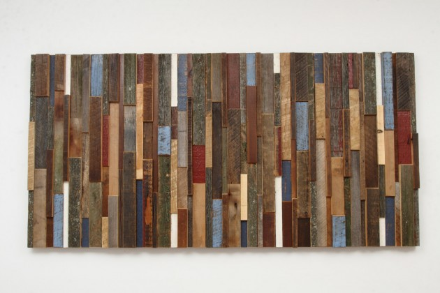 16 Magnificent Examples of Reclaimed Wood Wall Art (2)