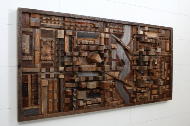 16 Magnificent Examples of Reclaimed Wood Wall Art (3)