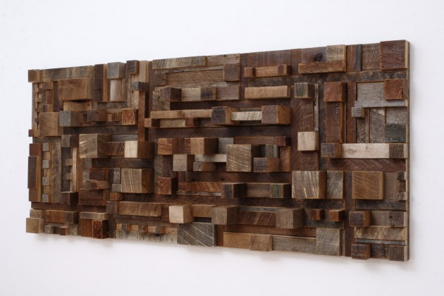 16 Magnificent Examples of Reclaimed Wood Wall Art (5)