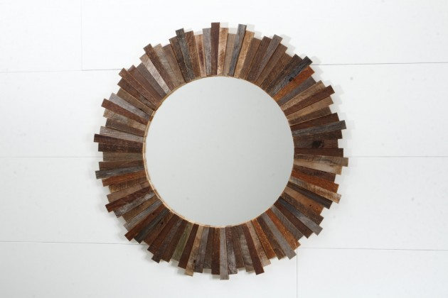 16 Magnificent Examples of Reclaimed Wood Wall Art (8)